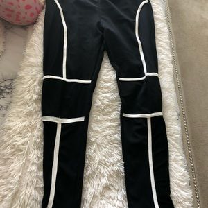 Other - Cropped top and mesh leggings matching set